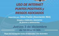 webinar sobre riesgos y beneficios de internet