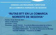 Webinar sobre patrimonio comarcal: Rutas BTT en la Comarca Nordeste de Segovia