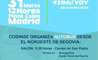 Súmate a la Revuelta de la España Vaciada, domingo 31 de marzo