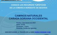 Conoce los recursos turísticos de la Comarca Nordeste de Segovia: Caminos naturales, cañada occidental Soriana.