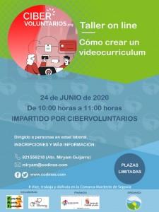 CARTEL FORMACION webinar videocurriculumv2