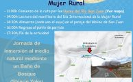 Baño de Bosque para celebrar el  día internacional de la mujer rural