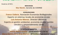 Jornada  online sobre economía verde y circular.