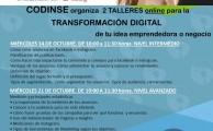 Taller online para la transformación digital de la empresa.