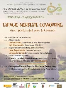 cartel jornada coworking Boceguillas diciembre