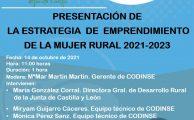Presentación de la estrategia de emprendimiento de la mujer rural.